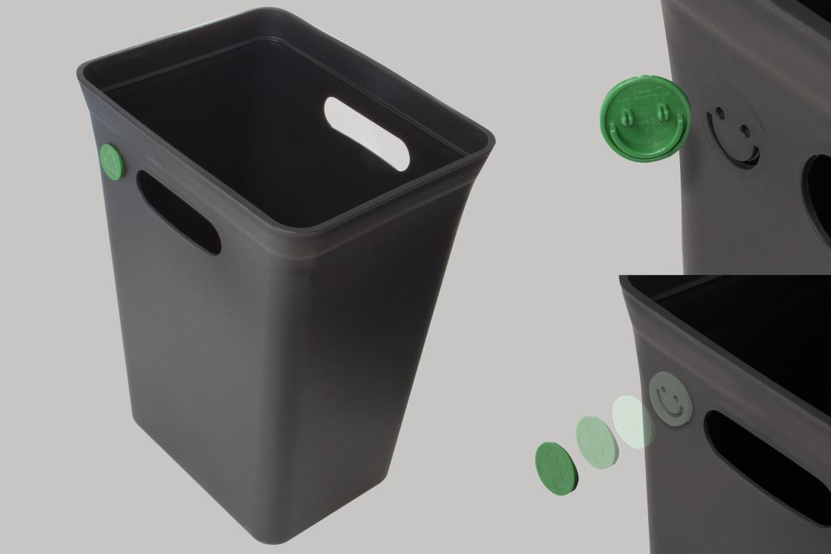 7ac9edfc0adcda Plast Team Kosz na śmieci 10L Avedore